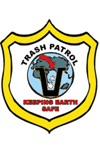 Trash Patrol Badges