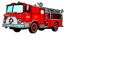 Fire Engine Name Tag